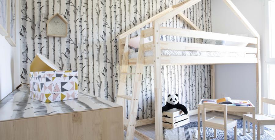 programme immobilier neuf à Seloncourt : les carrés Cossis duplex-jardin chambre enfant