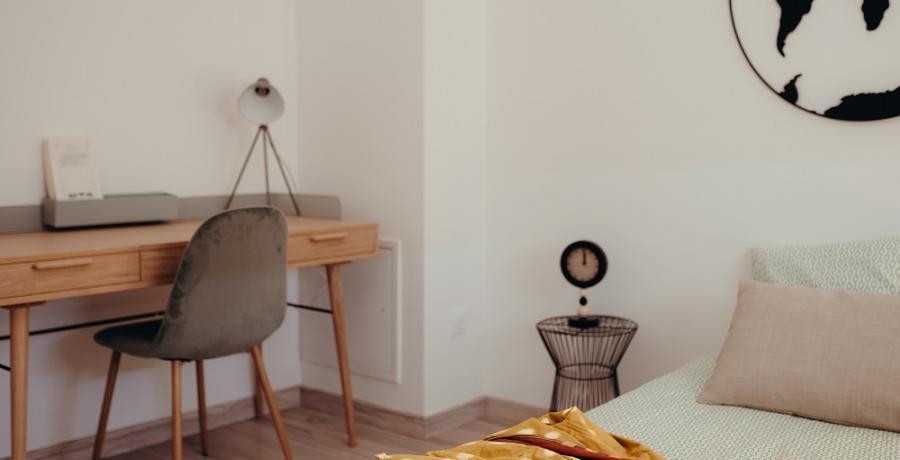 programme immobilier neuf à Sainte-Foy d'Aigrefeuille : les carrés du lac, duplex-jardin bureau