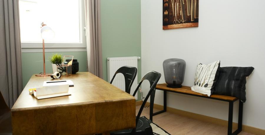 programme immobilier neuf à Gessey-sur-Tille : les carrés du Loup, duplex-jardin bureau
