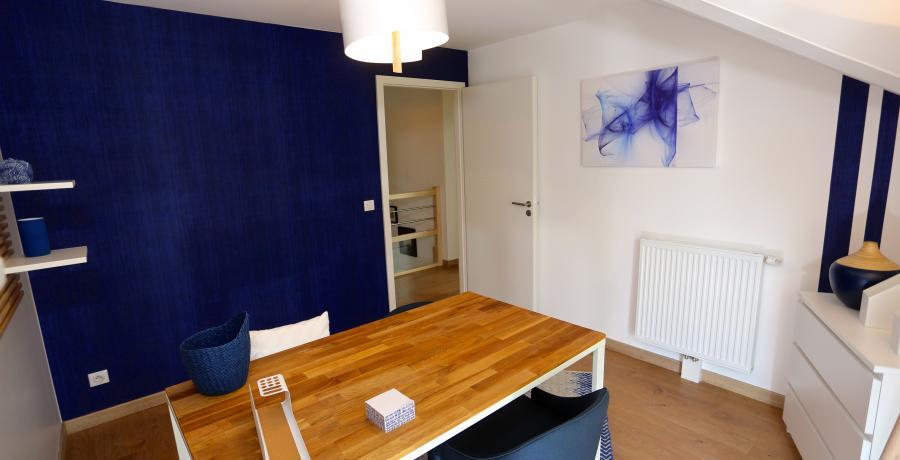 programme immobilier neuf à Ballaison : les carrés Ros'alba duplex-jardin bureau