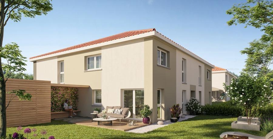 Appartement neuf Duplex-Jardin à Sainte-Foy-d'Aigrefeuille