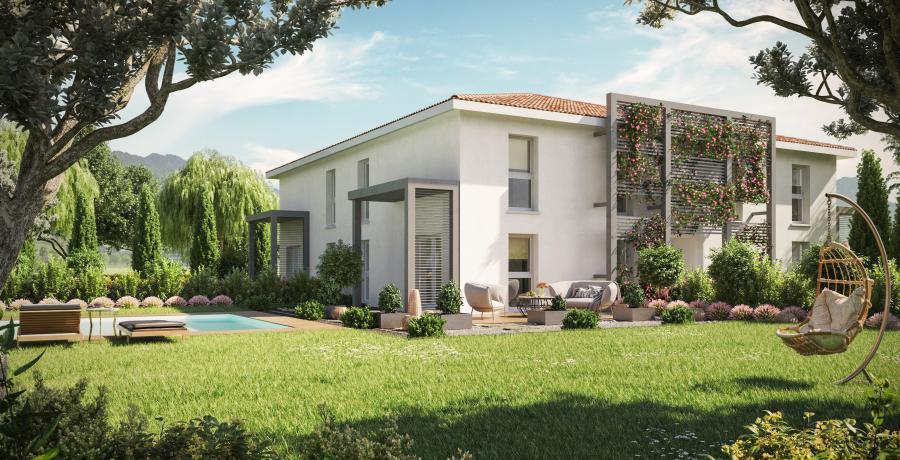 Appartement neuf Duplex-Jardin à Vigoulet-Auzil