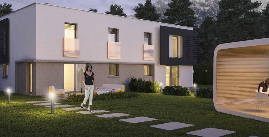 Appartement neuf Duplex-Jardin à Albertville