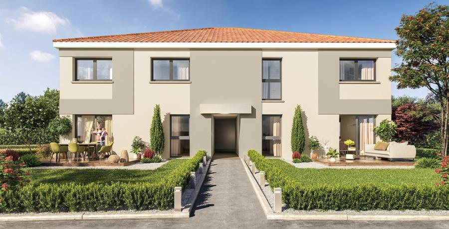 Appartement neuf Duplex-Jardin à Auzeville-Tolosane