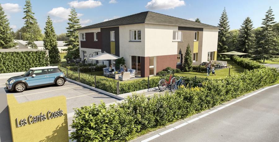 Appartement neuf Duplex-Jardin à Seloncourt