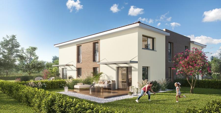 Appartement neuf Duplex-Jardin à Eaunes
