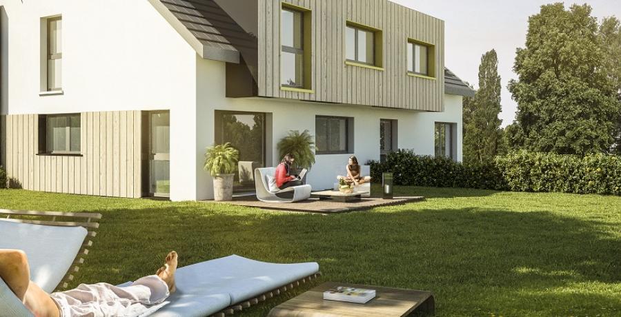 Appartement neuf Duplex-Jardin à Eaunes à Scharrachbergheim