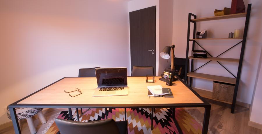 programme immobilier neuf à Albertville : les carrés Alpins duplex-jardin bureau