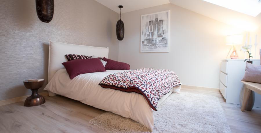 programme immobilier neuf à Albertville : les carrés Alpins duplex-jardin chambre