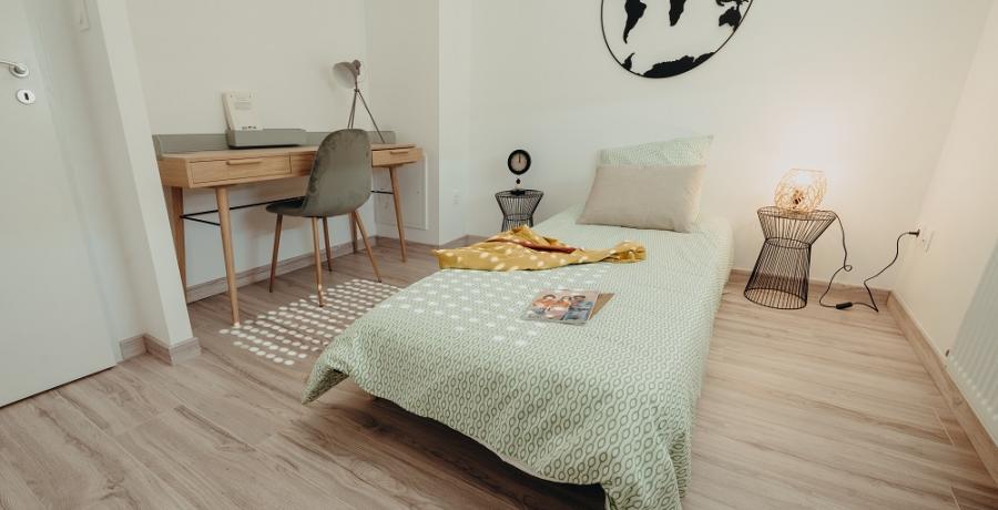 programme immobilier neuf à Eaunes : les carrés de la Plaine, duplex-jardin chambre d'amis