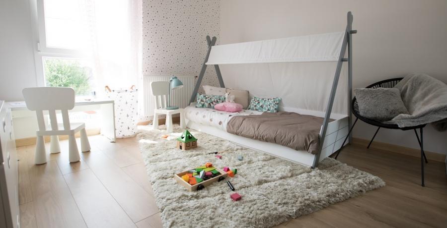 programme immobilier neuf à Griesheim-Près-Molsheim : les carrés du Rebond, duplex-jardin chambre d'enfants
