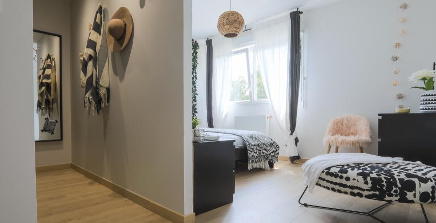 programme immobilier neuf à Griesheim-Près-Molsheim : les carrés du Rebond, duplex-jardin chambre
