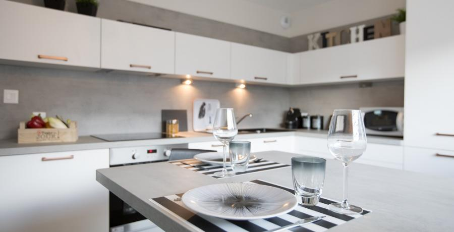 programme immobilier neuf à Griesheim-Près-Molsheim : les carrés du Rebond, duplex-jardin cuisine