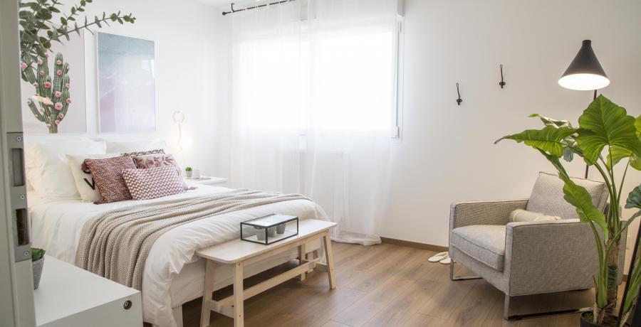 programme immobilier neuf à bollwiller : les carrés lorena, duplex-jardin chambre