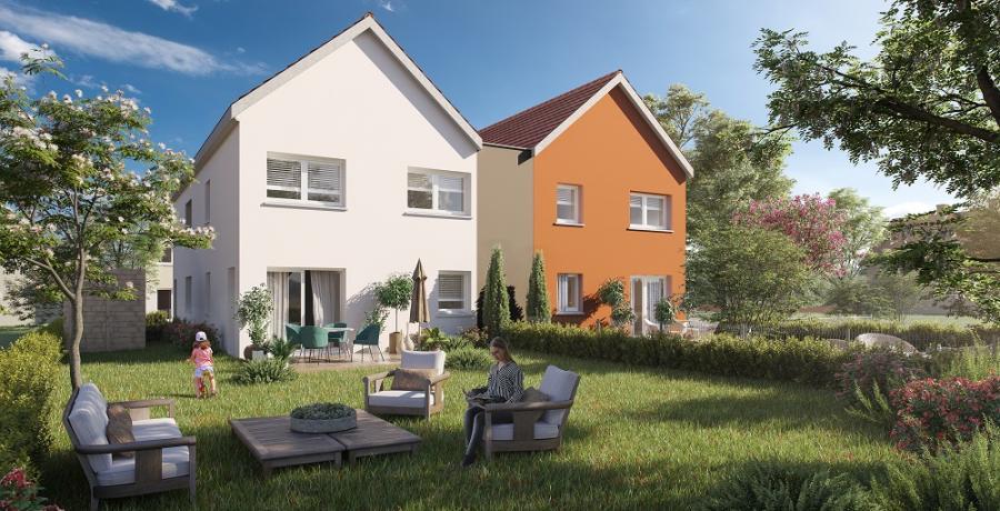 Appartement neuf duplex-jardin à Burnhaupt-le-Haut