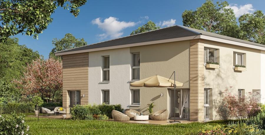 Appartement neuf duplex-jardin à Tagolsheim