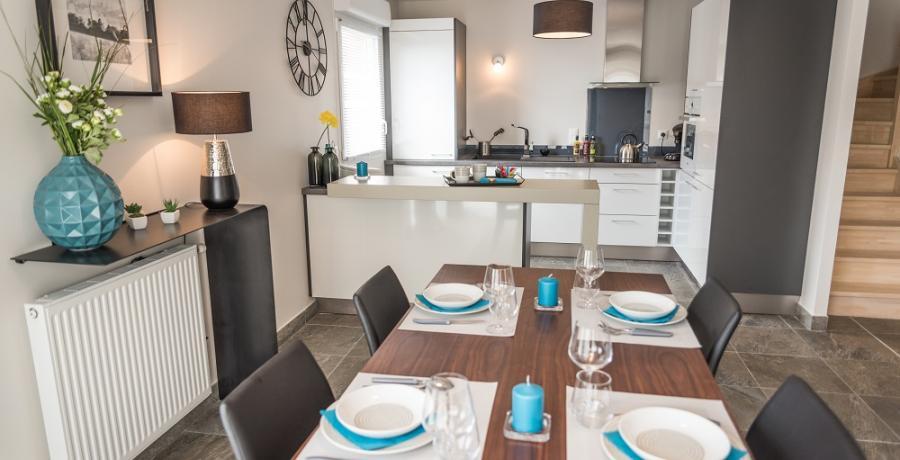 programme immobilier neuf à Chassagny : les carrés du Côteau duplex-jardin séjour