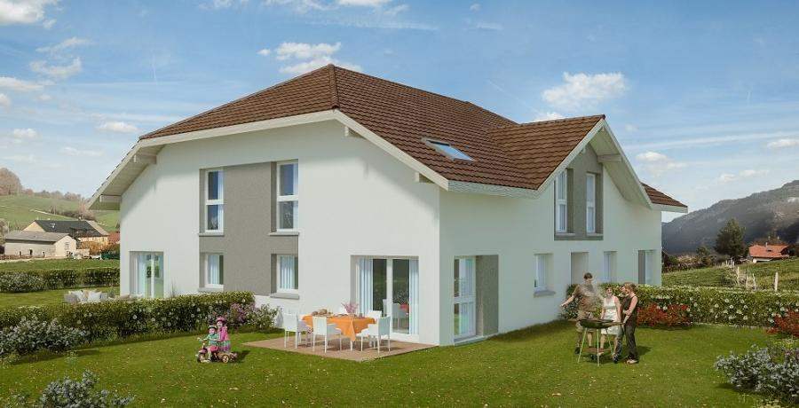 Appartement neuf Duplex-Jardin à Saint Blaise