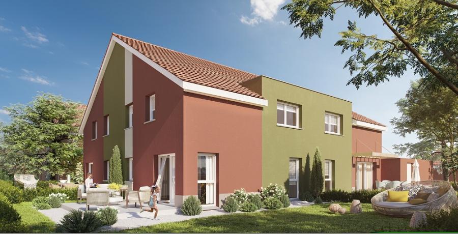 Appartement neuf Duplex-Jardin à Belfort