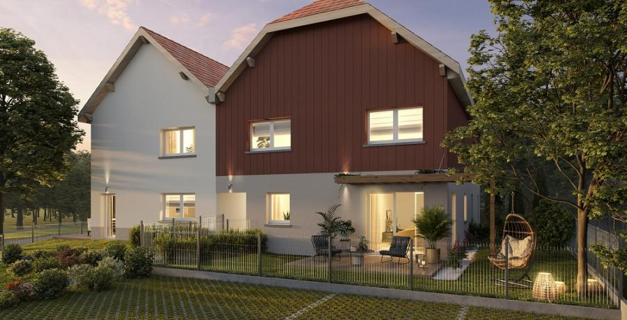 Appartement neuf Duplex-Jardin à Scharrachbergheim