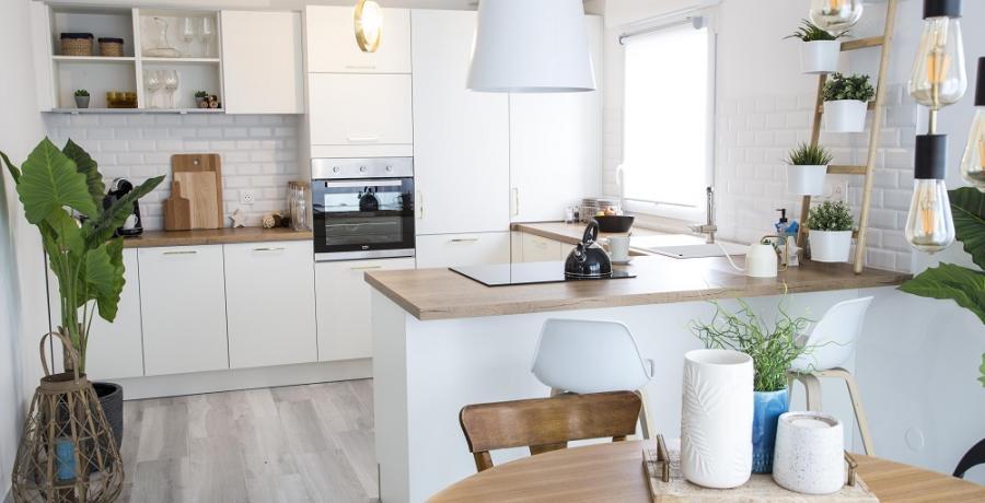 programme immobilier neuf à Soultz-Haut-Rhin: les carrés de castel, duplex-jardin cuisine