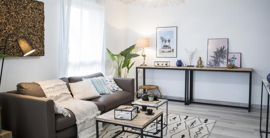 programme immobilier neuf à Soultz-Haut-Rhin: les carrés de castel, duplex-jardin salon