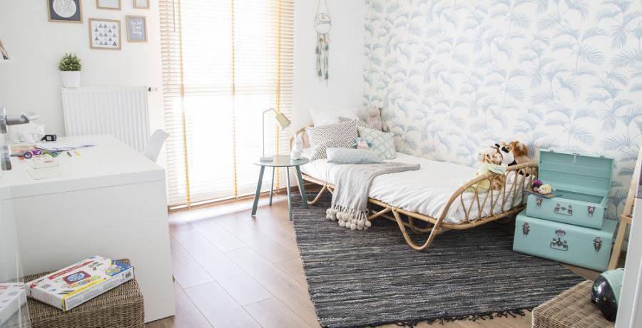 programme immobilier neuf à Belfort : les carrés d'Emile duplex-jardin chambre enfants