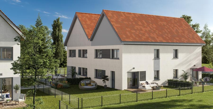 Appartement neuf Duplex-Jardin à Uttenheim