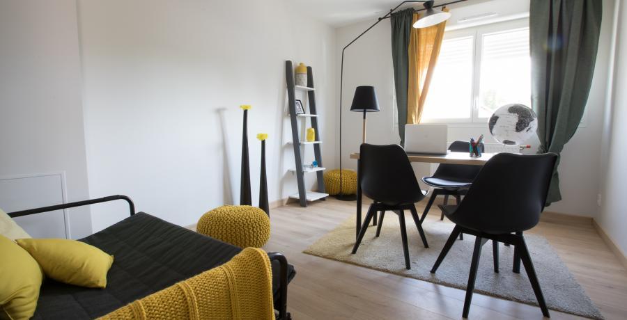 programme immobilier neuf à Uttenheim : Les Carrés Opale, duplex-jardin bureau