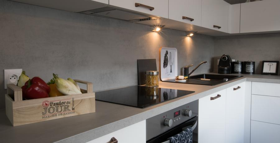 programme immobilier neuf à Uttenheim : Les Carrés Opale, duplex-jardin cuisine