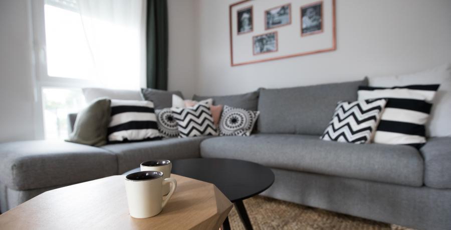 programme immobilier neuf à Uttenheim : Les Carrés Opale, duplex-jardin salon