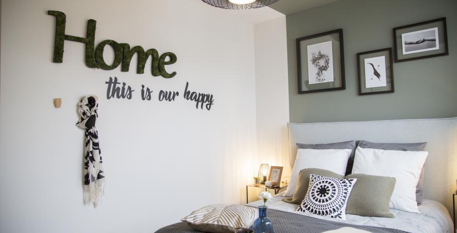 programme immobilier neuf à Duppigheim : Les Carrés Flore, duplex-jardin chambre parentale