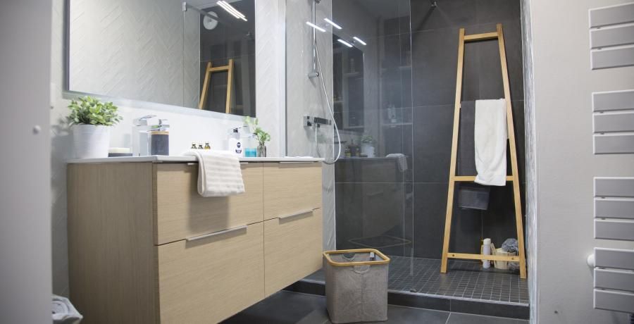 programme immobilier neuf à Duppigheim : Les Carrés Flore, duplex-jardin salle de bain