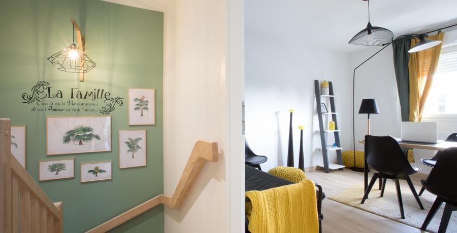 programme immobilier neuf à Ebersmunster : les Carrés Tradition, duplex-jardin bureau