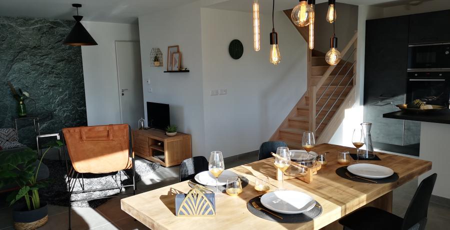 appartement duplex témoin à Saint-Blaise