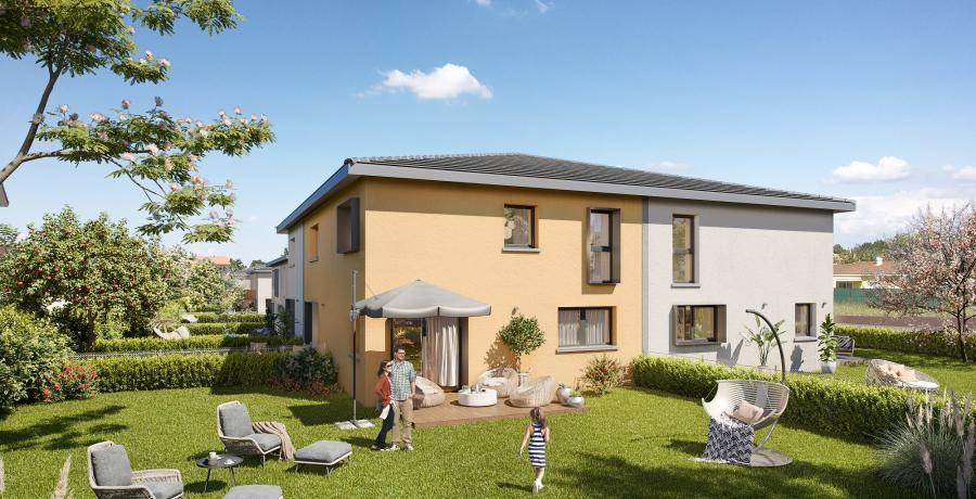 Appartement neuf Duplex-Jardin à Saint-Bonnet-de-Mure