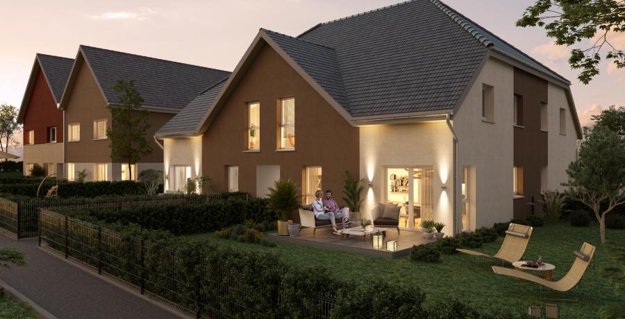 Appartement neuf Duplex-Jardin à Zaessingue
