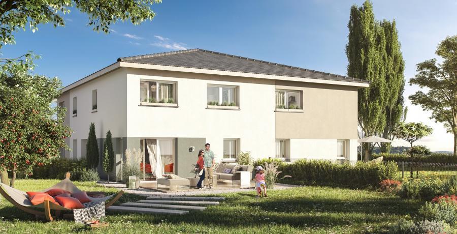 Appartement neuf Duplex-jardin à Soultz-Haut-Rhin