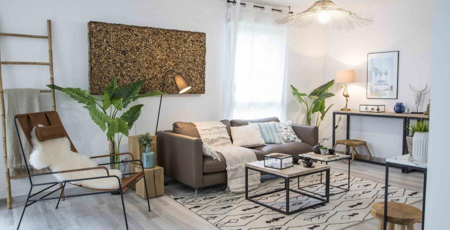 Programme immobilier neuf à Zaessingue : Les Carrés du Verger, duplex-jardin salon