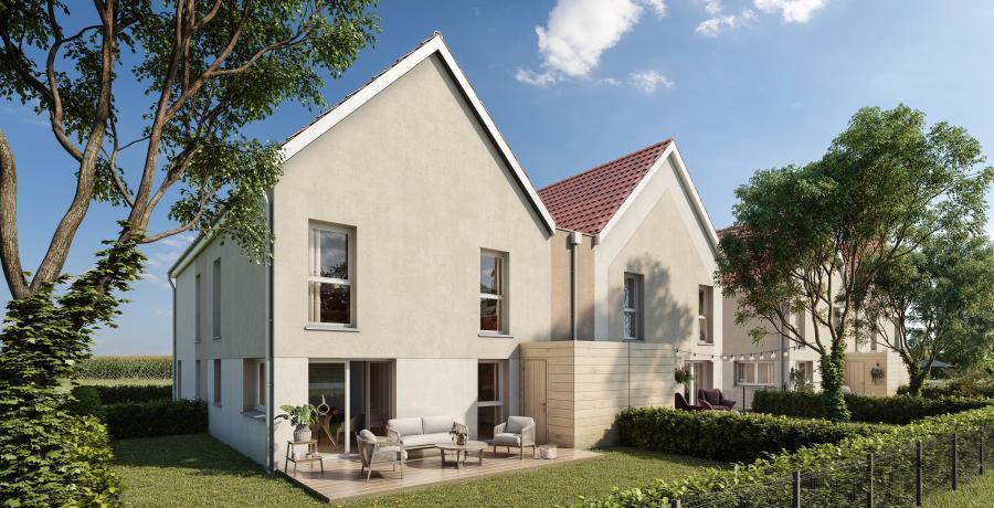 Appartement neuf Duplex-Jardin à Blaesheim