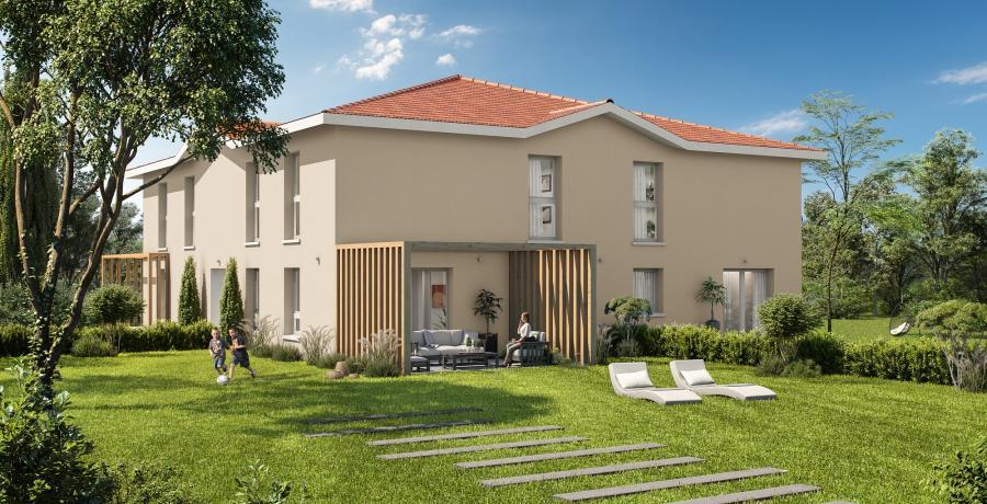 Appartement neuf Duplex-Jardin à Castelmaurou