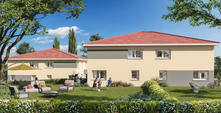 Appartement neuf Duplex-Jardin aux Auxons
