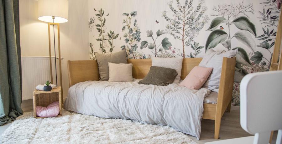 programme immobilier neuf à blaesheim : les Carrés Sépia, duplex-jardin chambre enfant