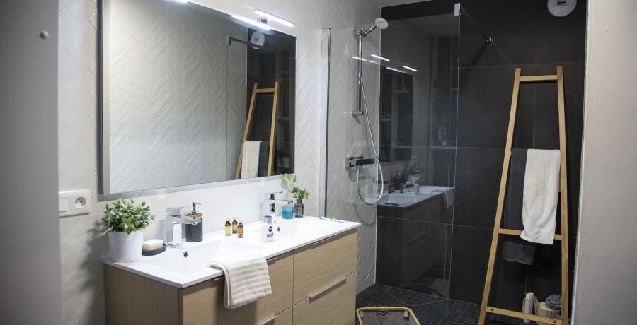 programme immobilier neuf à blaesheim : les Carrés Sépia, duplex-jardin salle de bain