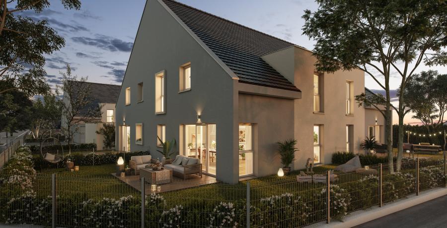 Appartement neuf Duplex-Jardin à Guémar