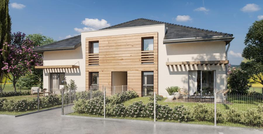 Appartement neuf Duplex-jardin à Huttenheim