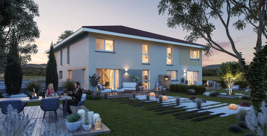 Appartement neuf Duplex-Jardin à Veigy-Foncenex