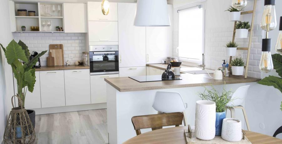 programme immobilier neuf à Guémar : les Carrés Maximin, duplex-jardin cuisine