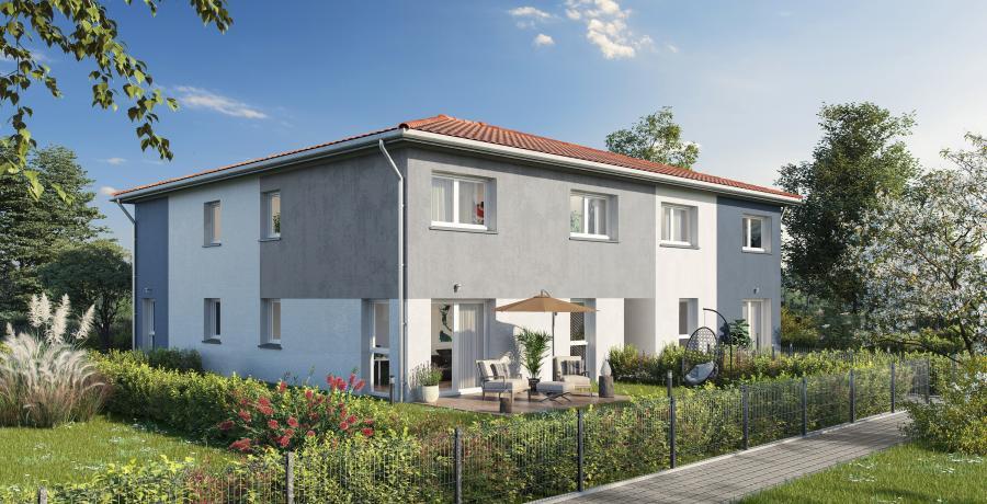 Appartement neuf Duplex-Jardin à Niederentzen