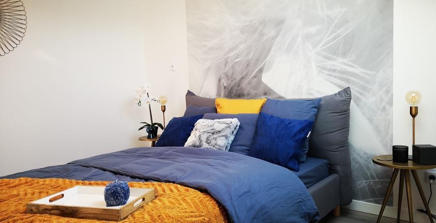 Programme immobilier neuf à Thônes : les Carrés de Vaunessin, Duplex-Jardin chambre parentale